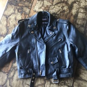 Steer Brand kid's leather jacket